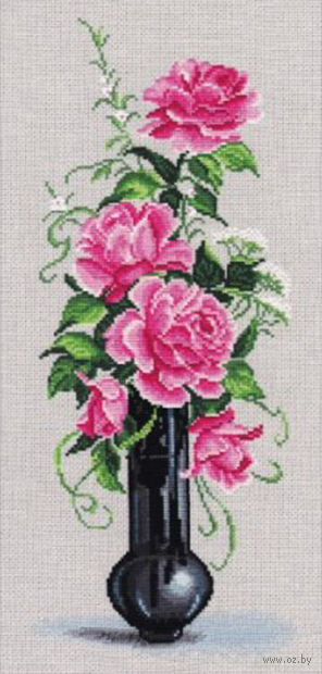 """Вышивка крестом """"Розовое настроение"""""""