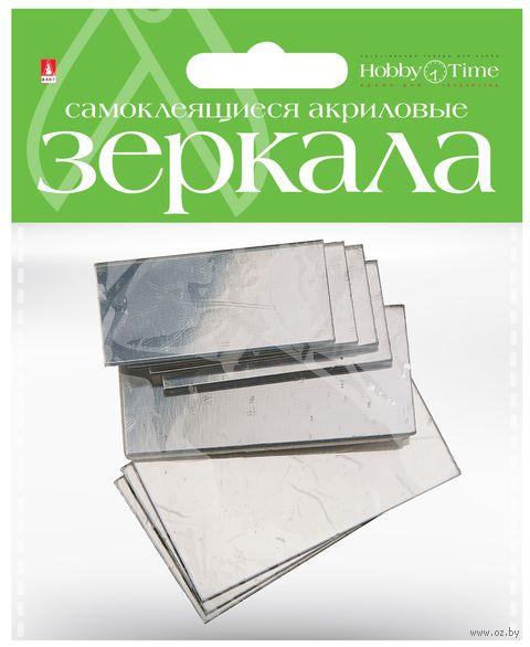 """Набор декоративных зеркал """"Прямоугольники"""" — фото, картинка"""