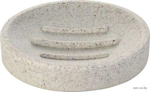 "Мыльница ""Stone"" (бежевая) — фото, картинка"