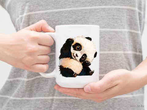 """Кружка """"Панда"""" (арт. 323) — фото, картинка"""
