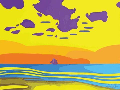 "Картина по номерам ""Тяжелые облака"" (300х400 мм) — фото, картинка"
