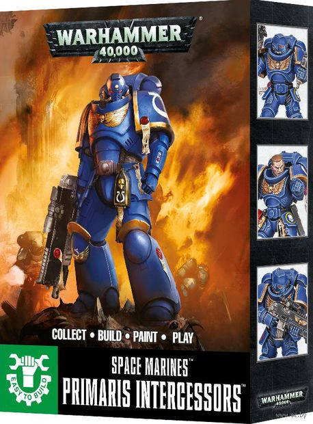 Warhammer 40.000. Space Marines. Primaris Intercessors (48-65) — фото, картинка