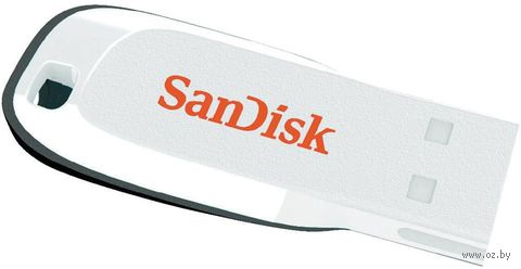 USB Flash Drive 16Gb SanDisk CZ50 Cruzer Blade (white)