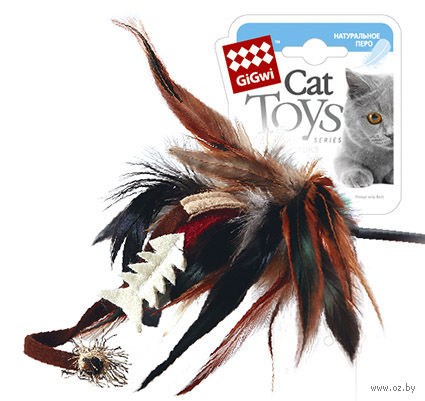 Дразнилка для кошек на стеке (51 см; арт. 75051)