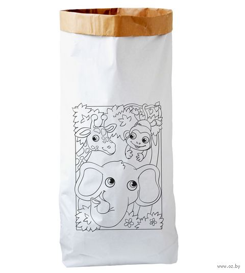 "Эко-мешок для хранения игрушек ""Африка"" — фото, картинка"