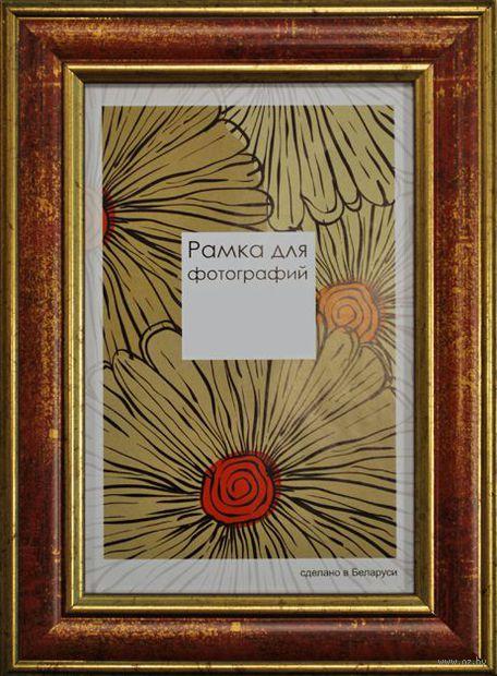Рамка деревянная со стеклом (21х30 см, арт. 229-08)