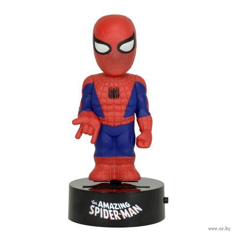 """Фигурка """"Neca. Человек-паук"""" на солнечной батарее (15 см)"""