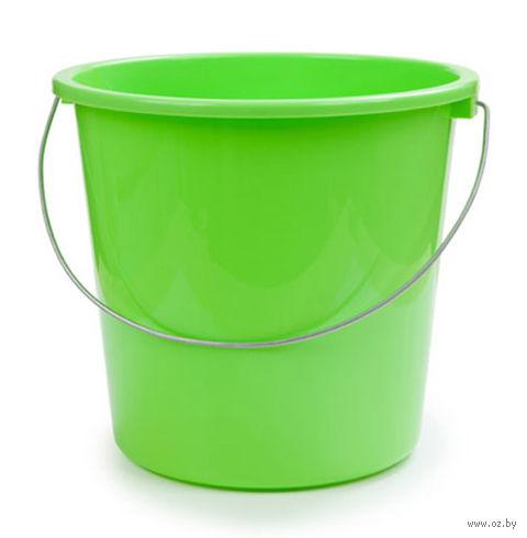 Ведро (5 л; салатный) — фото, картинка