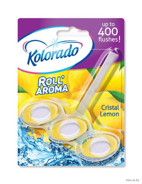 """Освежитель для унитаза """"Kolorado Roll'Aroma. Cristal Lemon"""" (51 г) — фото, картинка"""