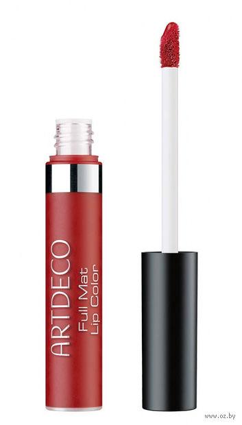 """Помада для губ """"Full Mat Lip Color long-lasting"""" тон: 62, crimson red — фото, картинка"""