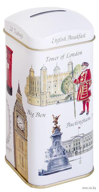 """Чай черный """"Ahmad Tea. Символы Лондона"""" (20 пакетиков) — фото, картинка"""