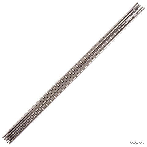 Спицы чулочные для вязания (сталь; 1,5 мм; 15 см) — фото, картинка