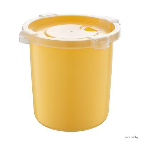 """Контейнер для микроволновки """"Bon Appetit"""" (139х137х122 мм; медовый) — фото, картинка"""