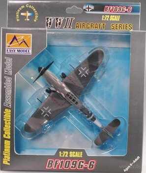 """Самолет """"Мессершмитт BF-109G-6 VII./JG3 1944г. Германия"""" (масштаб: 1/72) — фото, картинка"""