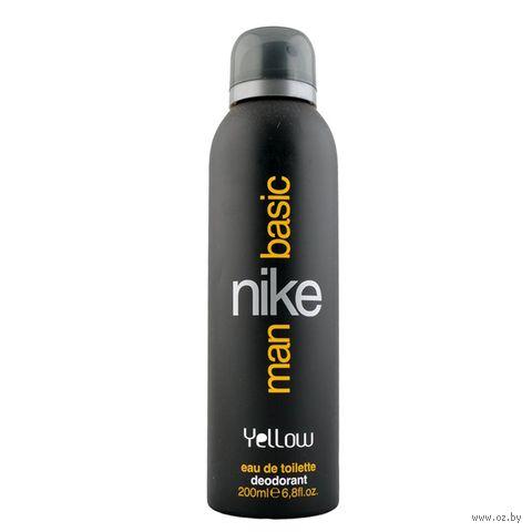 "Дезодорант парфюмерный для мужчин ""Nike. Basic Yellow"" (200 мл)"