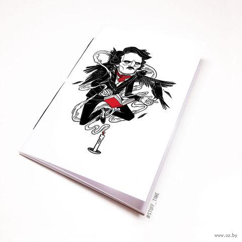 """Блокнот """"Эдгар Аллан По"""" (А5; арт. 493)"""