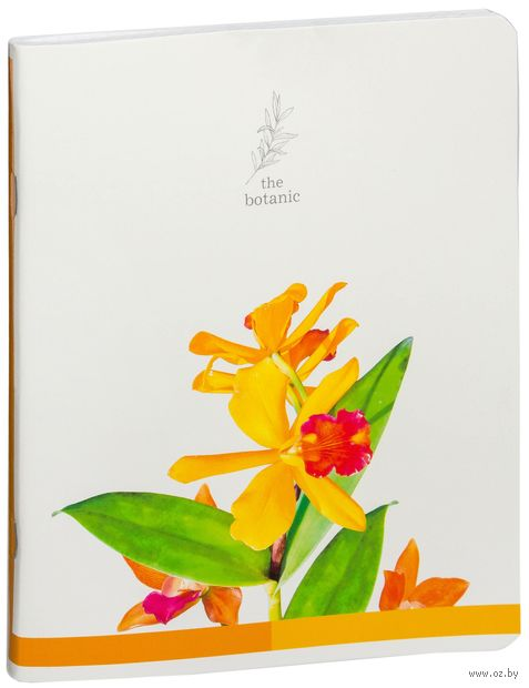 """Тетрадь в клетку 96 листов """"Цветы. The Botanic"""""""