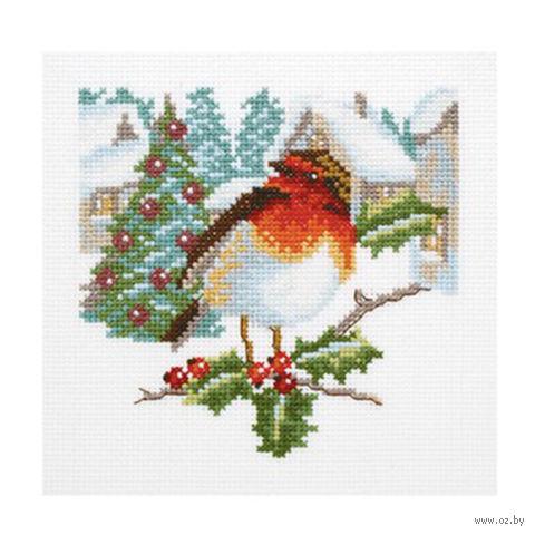 """Вышивка крестом """"Приметы рождества"""""""