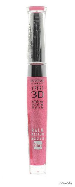 """Блеск для губ """"Effet 3D"""" тон: 20, розовый космический — фото, картинка"""