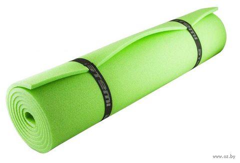 Коврик туристический (1800х600х10 мм; зелёный) — фото, картинка
