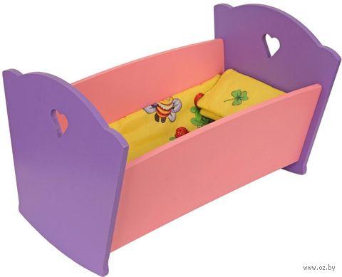 """Набор мебели для кукол """"Кроватка с постельным бельем"""" — фото, картинка"""