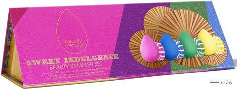 """Подарочный набор """"Sweet Indulgence"""" (спонжи, мыло для спонжей) — фото, картинка"""