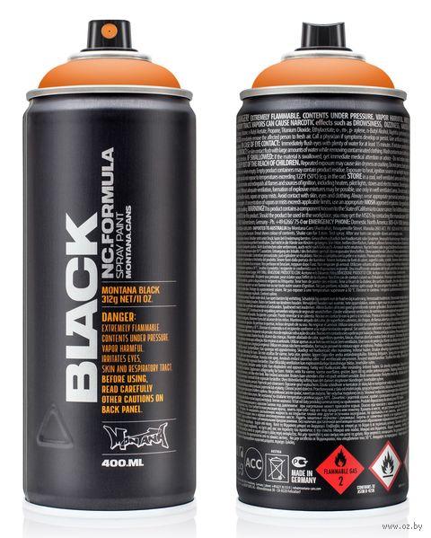 "Краска аэрозольная ""Black. Pure Orange"" (оранжевая; 400 мл) — фото, картинка"