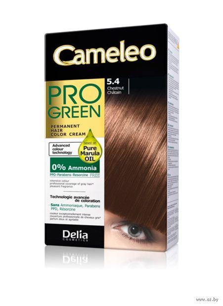 "Краска для волос ""Cameleo Pro Green"" (тон: 5.4, каштан) — фото, картинка"