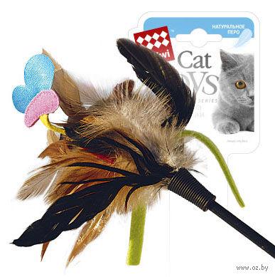 Дразнилка для кошек на стеке (51 см; арт. 75242)