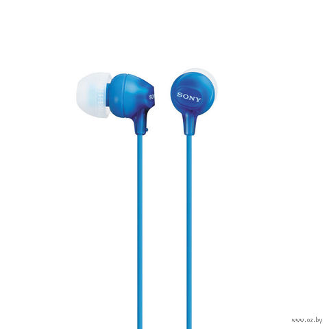Наушники Sony MDR-EX15LP/L (синие) — фото, картинка