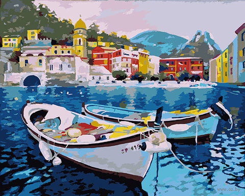 "Картина по номерам ""Тихая гавань"" (400х500 мм) — фото, картинка"