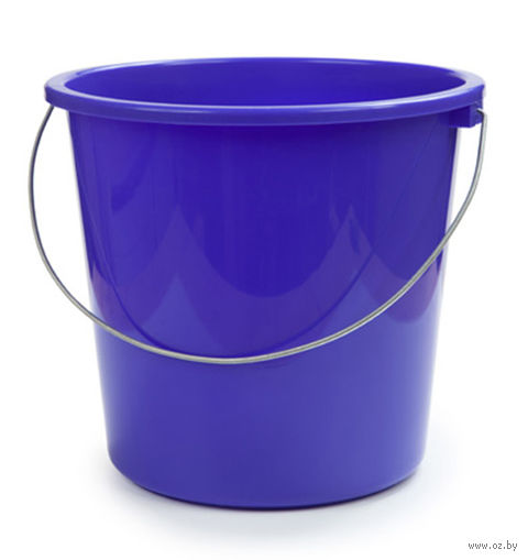 Ведро (7 л; лазурно-синее) — фото, картинка