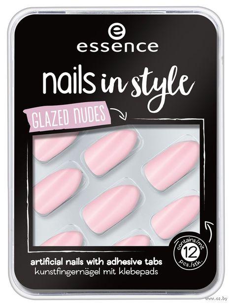 "Накладные ногти ""Nails in Style 08. Glazed Nudes"" (12 шт.) — фото, картинка"