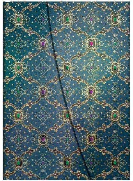 "Записная книжка Paperblanks ""Синева"" в линейку (формат: 130*180 мм, средний)"