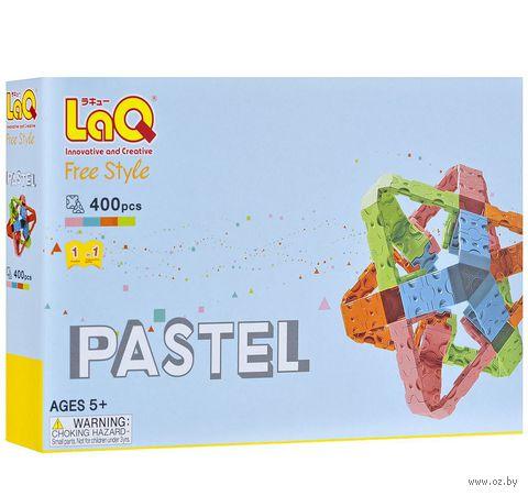 "Конструктор ""LaQ. Free Style Pastel"" (400 деталей)"