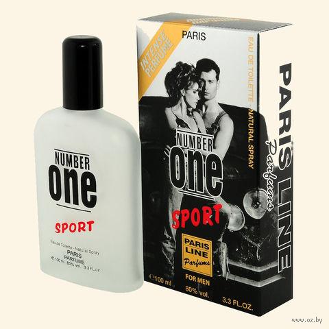 """Туалетная вода для мужчин """"Number One Sport"""" (100 мл)"""
