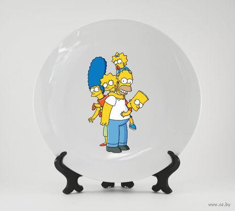 "Тарелка ""Симпсоны"" (арт. 678)"