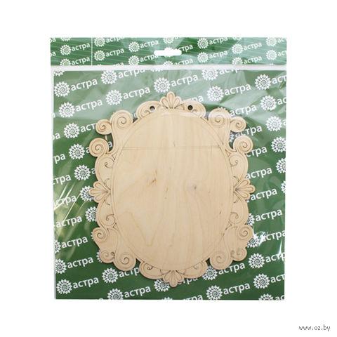 "Заготовка деревянная ""Панно. Винтажное"" (210х170 мм)"
