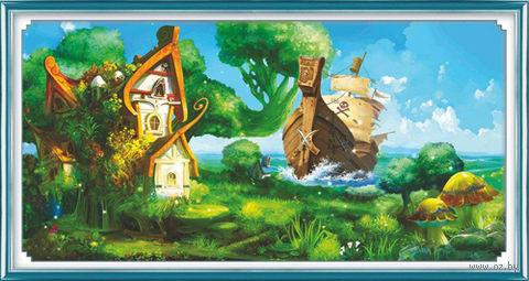"""Алмазная вышивка-мозаика """"Пиратский остров"""""""