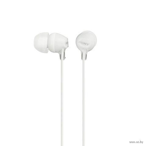 Наушники Sony MDR-EX15LP/W (белые) — фото, картинка