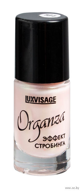"""Лак для ногтей """"Organza"""" (тон: 101, розовый жемчуг) — фото, картинка"""