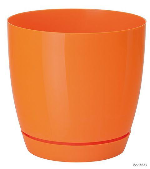 """Цветочный горшок """"Тоскана"""" (15 см; оранжевый) — фото, картинка"""