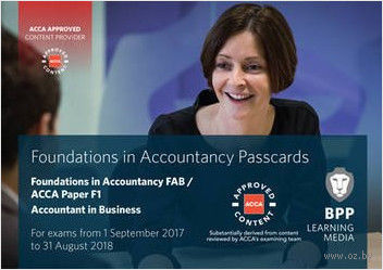 FIA Foundations of Accountant in Business FAB (ACCA F1). Passcards — фото, картинка