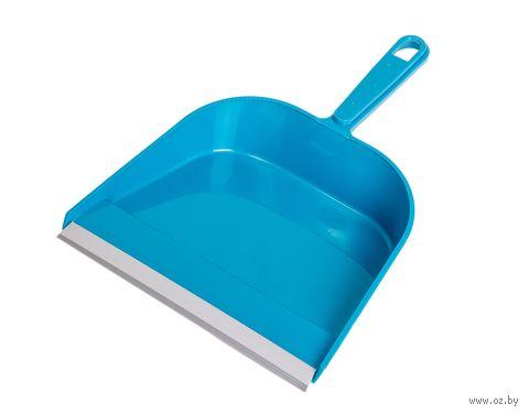 Совок для мусора пластмассовый с резинкой — фото, картинка