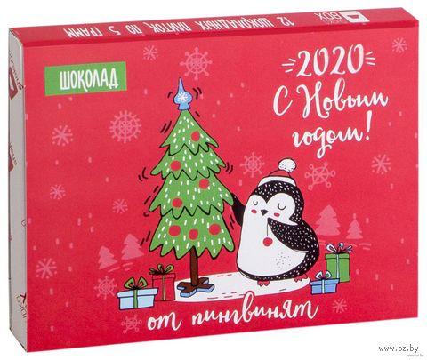 """Набор шоколада """"Новогодние пингвины"""" (60 г) — фото, картинка"""