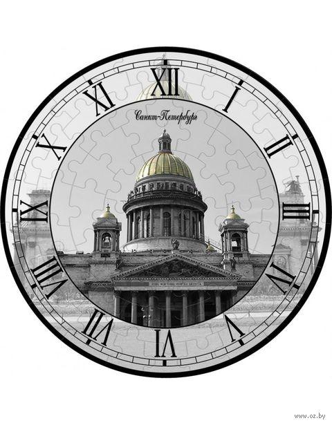 """Пазл-часы """"Исаакиевский собор"""" (61 элемент) — фото, картинка"""