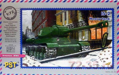 Советский тяжелый танк ИС-1 1943г. (масштаб: 1/72) — фото, картинка