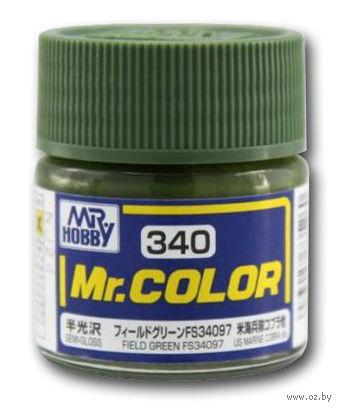 Краска Mr. Color (field green, C340)