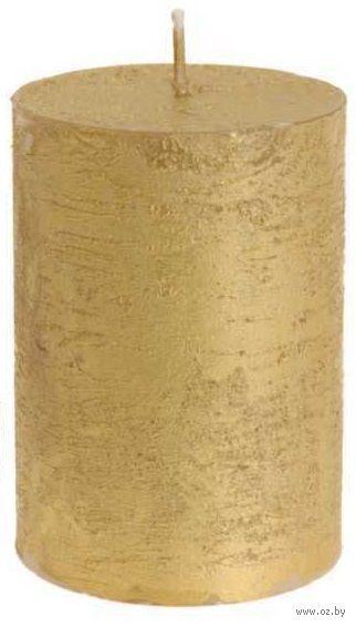 Свеча декоративная золотистая (10 см, арт. AFD000800)
