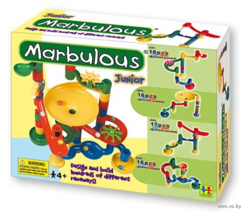 "Конструктор ""Marbulous. Junior"" (17 деталей; арт. 283)"